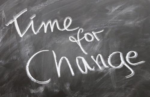 Il tuo cambiamento non può aspettare il 2019. Inizia da oggi!